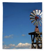 Windmill-5749b Fleece Blanket