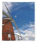 Windmill In The Sky Fleece Blanket