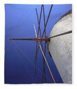 Windmill Masts Fleece Blanket