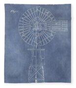 Windmill Patent Fleece Blanket
