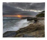 Windnsea Fence Fleece Blanket