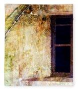 Window - Water Color - Fort Fleece Blanket