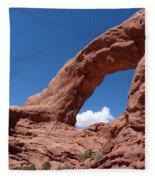 Window Arch Fleece Blanket