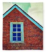 Window In Brick House Fleece Blanket