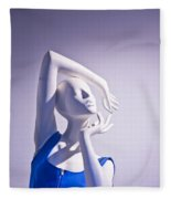 Window Mannequins 3 Fleece Blanket