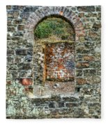 Window To A Bygone Heritage Fleece Blanket