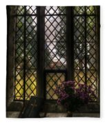Window To God Fleece Blanket