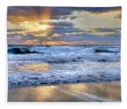 Window To Heaven Fleece Blanket