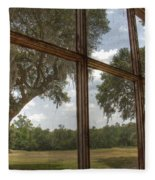 Window With A View Fleece Blanket