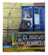 Windows And Doors Buenos Aires 17 Fleece Blanket