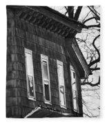Windows Of The Past Fleece Blanket