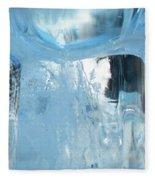 Windows On Winter Fleece Blanket