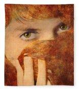 Windows To The Soul #04 Fleece Blanket