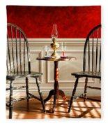 Windsor Chairs Fleece Blanket