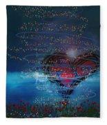 Windswept Love Fleece Blanket
