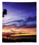 Windy Evening Fleece Blanket