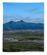 Windy Ridge View Fleece Blanket