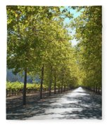 Wine Country Napa Fleece Blanket