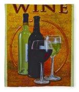 Wine Country Fleece Blanket