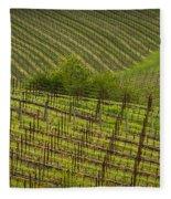 Wine Design Fleece Blanket