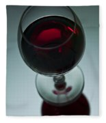 Wine Glass 2 Fleece Blanket