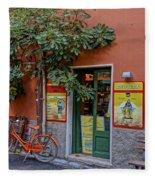 Wine Shop Monterosso Italy Dsc02584  Fleece Blanket