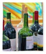 Wine Tasting Fleece Blanket