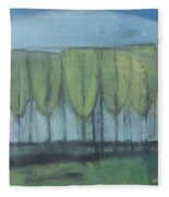 Wineglass Trees Fleece Blanket
