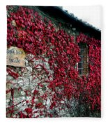 Winery Ivy Fleece Blanket
