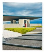 Winery Modernism Fleece Blanket