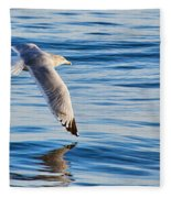 Wing Dipping Fleece Blanket