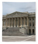 Wing Of The Capitol - Washington Dc  Fleece Blanket