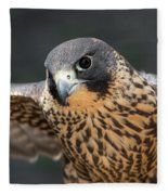 Winged Portrait Fleece Blanket