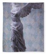 Winged Victory Fleece Blanket