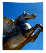 Winged Wonder II Fleece Blanket