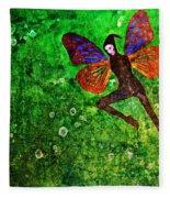 Wings 10 Fleece Blanket