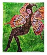 Wings 17 Fleece Blanket