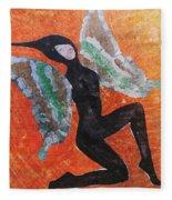 Wings 4  Fleece Blanket