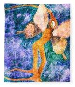 Wings 8 Fleece Blanket