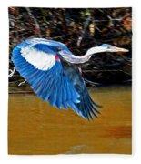 Wings In Flight Fleece Blanket