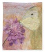 Wings Of Beauty Fleece Blanket
