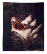 Wings Of Hope Fleece Blanket