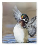 Wings Up Shoot Fleece Blanket