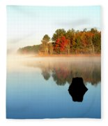 Winnsboro Reservoir-1 Fleece Blanket