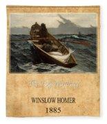 Winslow Homer 4 Fleece Blanket