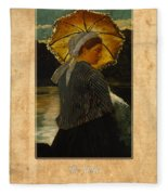 Winslow Homer 6 Fleece Blanket