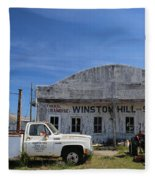 Winston Hill Fleece Blanket