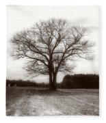Winter Bare Fleece Blanket