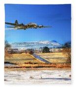 Winter Belle Fleece Blanket