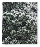 Winter Bush Fleece Blanket